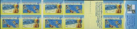 Aus SG1443a Centenary of Organised Life Saving in Australia self-adhesive booklet pane (SB83)